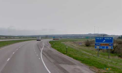 sd interstate 90 south dakota i90 spearfish welcome center rest area mile marker 1-eastbound off ramp exit